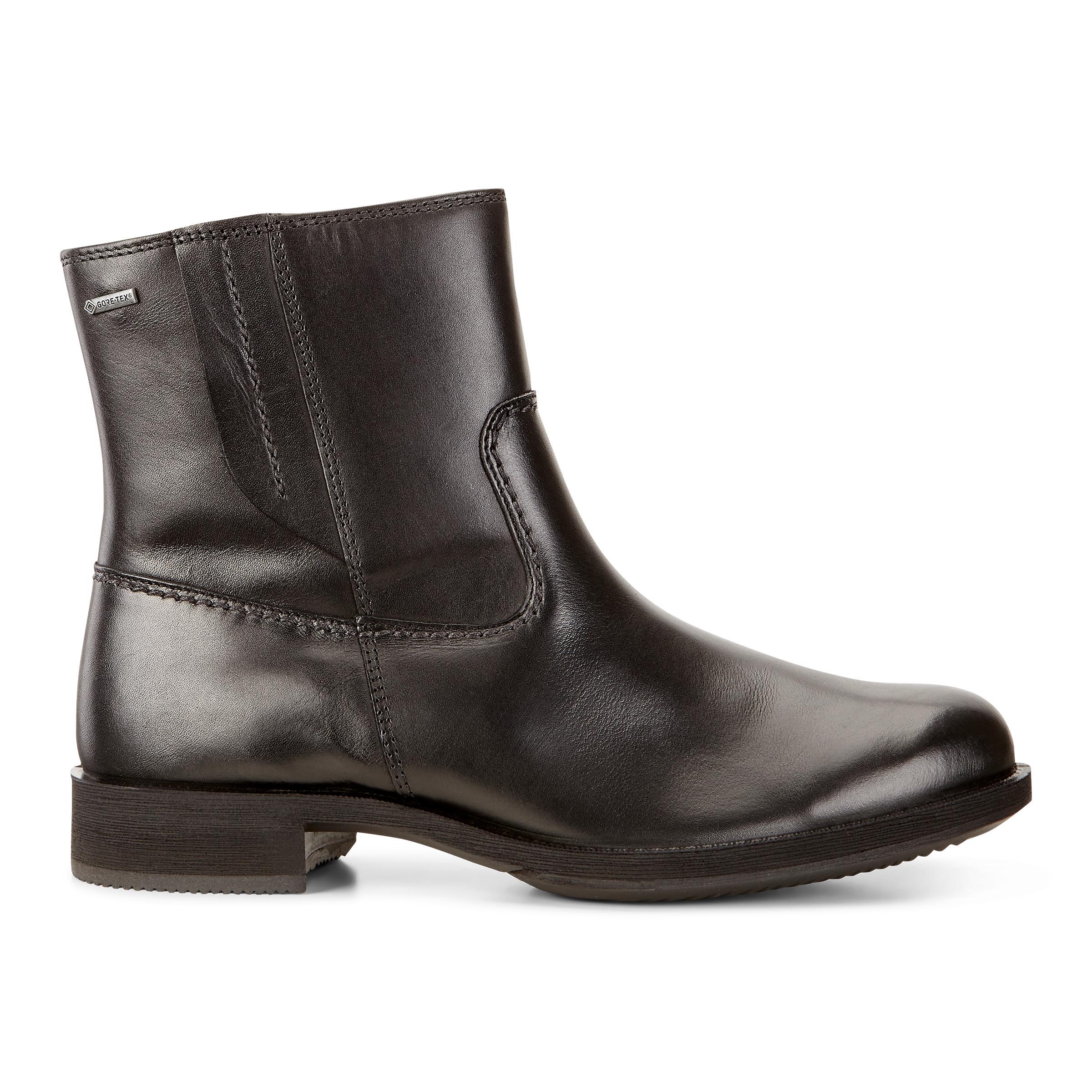 Ecco 234743 Saunter Black, Schuhe, Stiefel & Boots, Hohe Boots, Schwarz, Female, 36