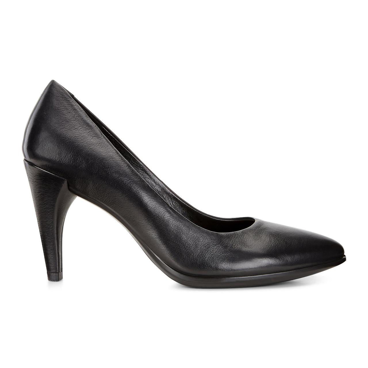 ecco sandaler tilbud, Sort Ecco Shape 75 Pointy Dame Sko