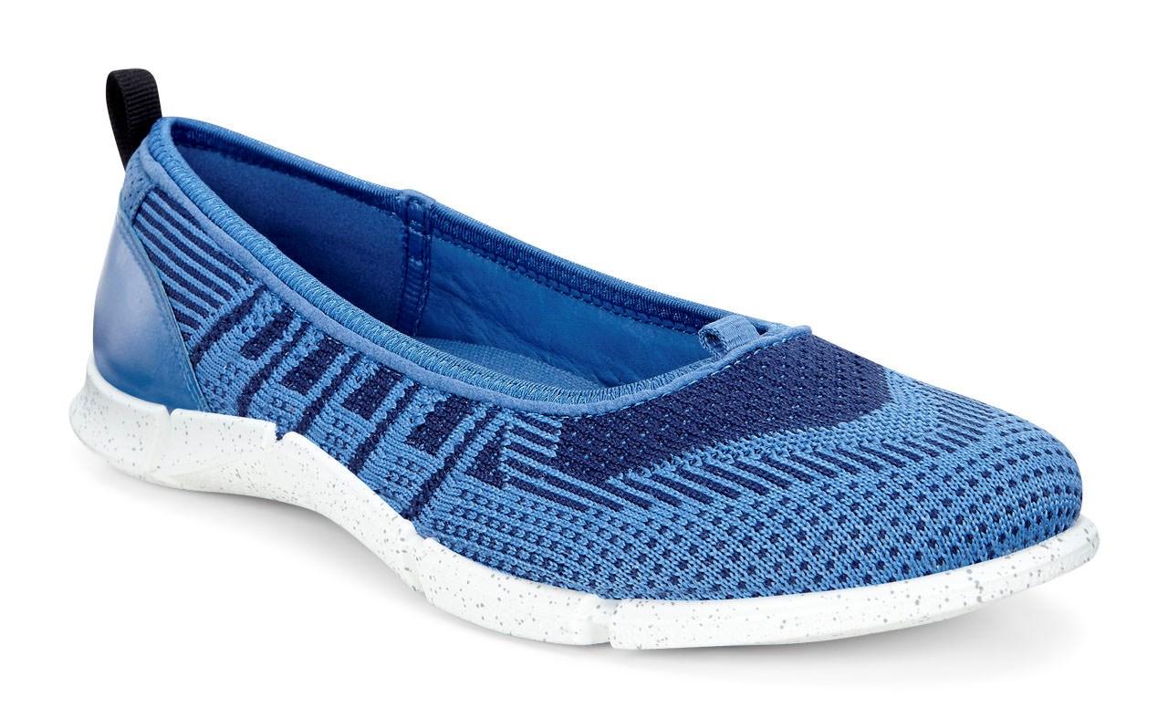 Herre Sneakers ecco INTRINSIC 2 Høye joggesko blue,ecco