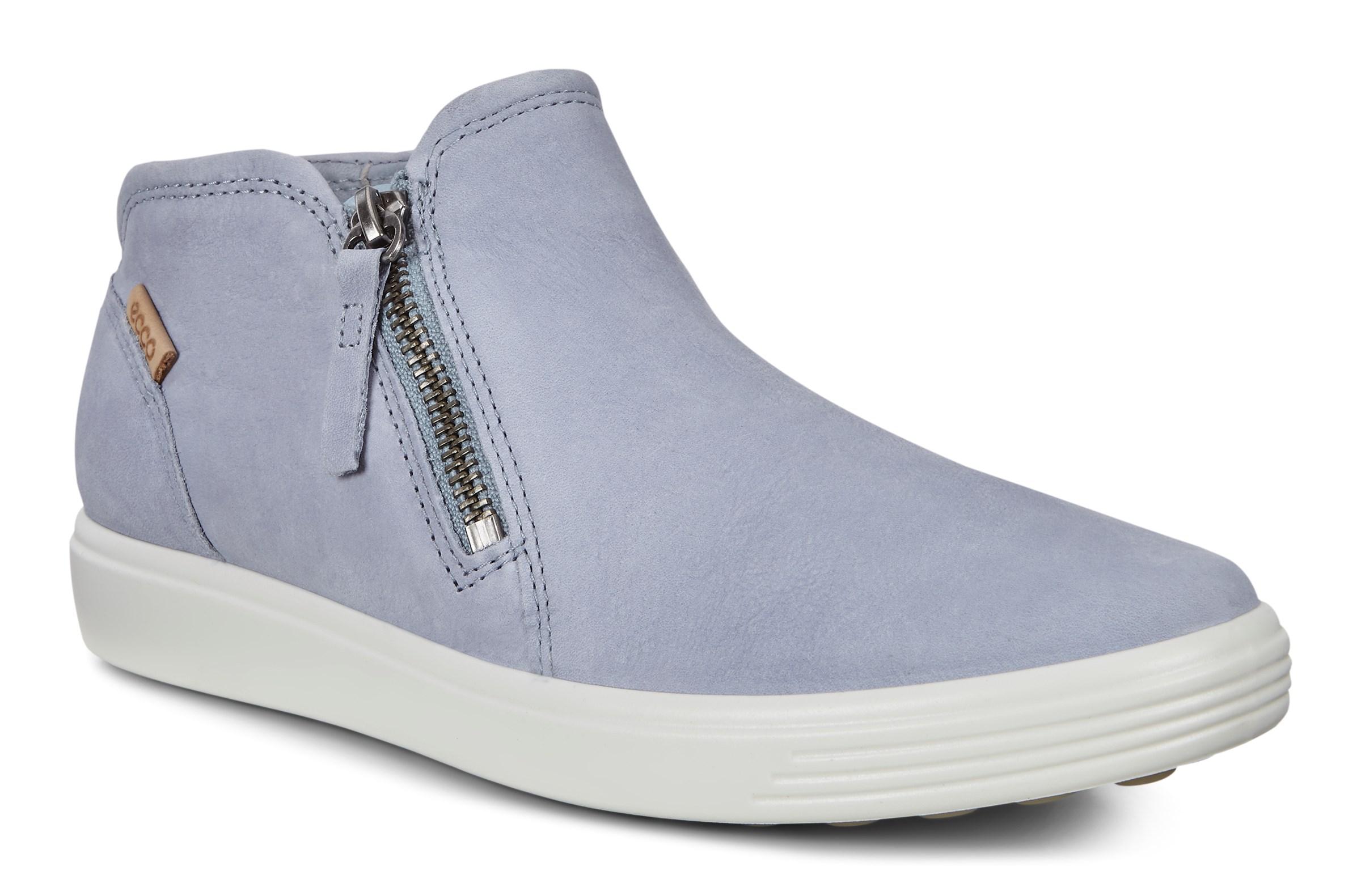 Ecco Schuhe SOFT 7 LADIES weiß Damen Stiefeletten
