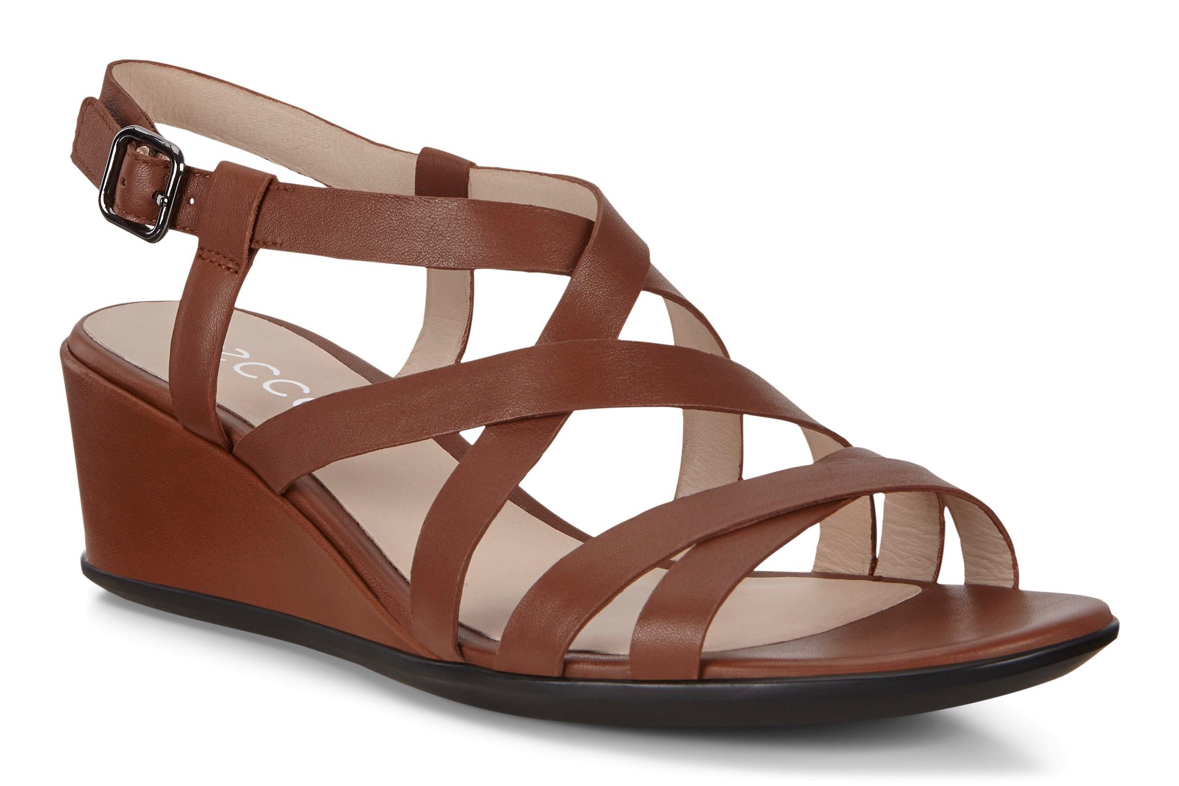 ECCO Dame Soft 5 3 Strap Sandaler Rød