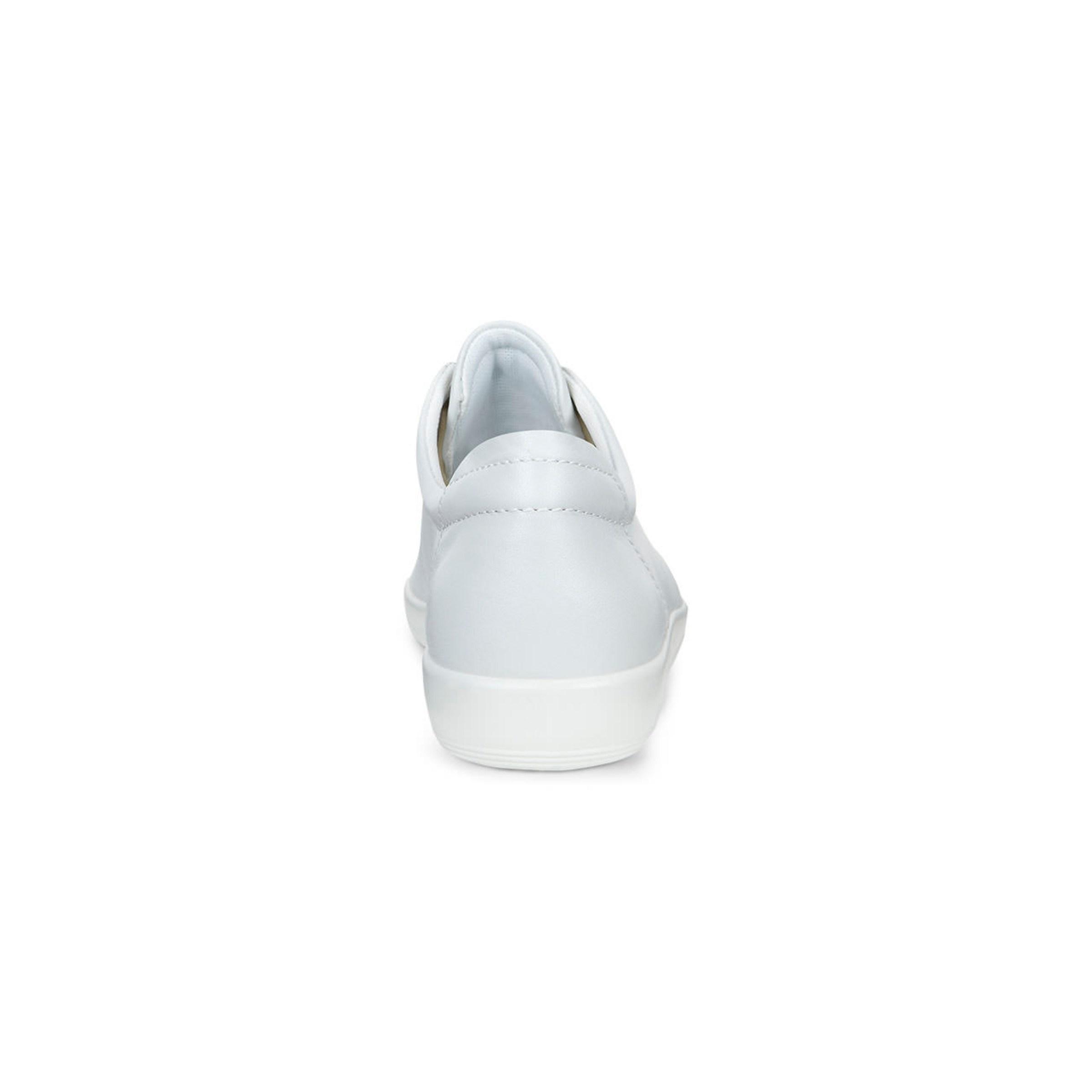 hvite flate sko