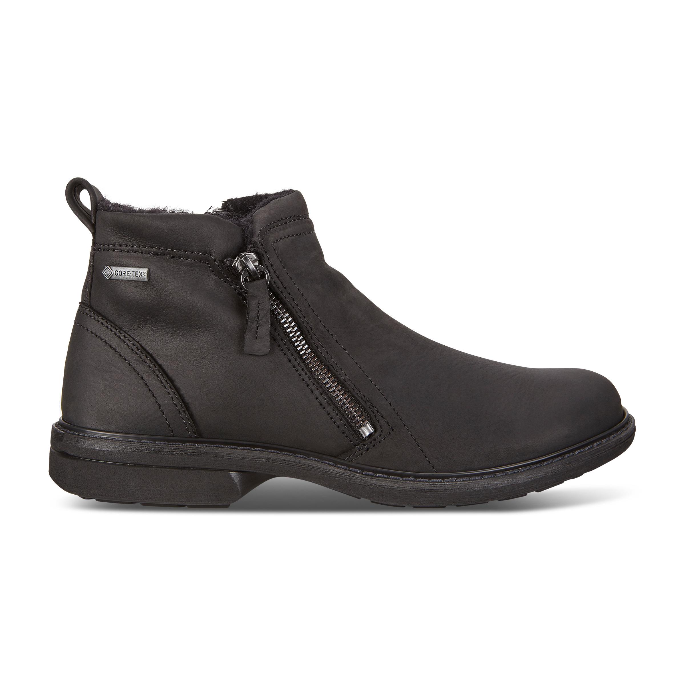 ecco tilbud på støvler, Ecco Turn Kernelæder Sort Støvler