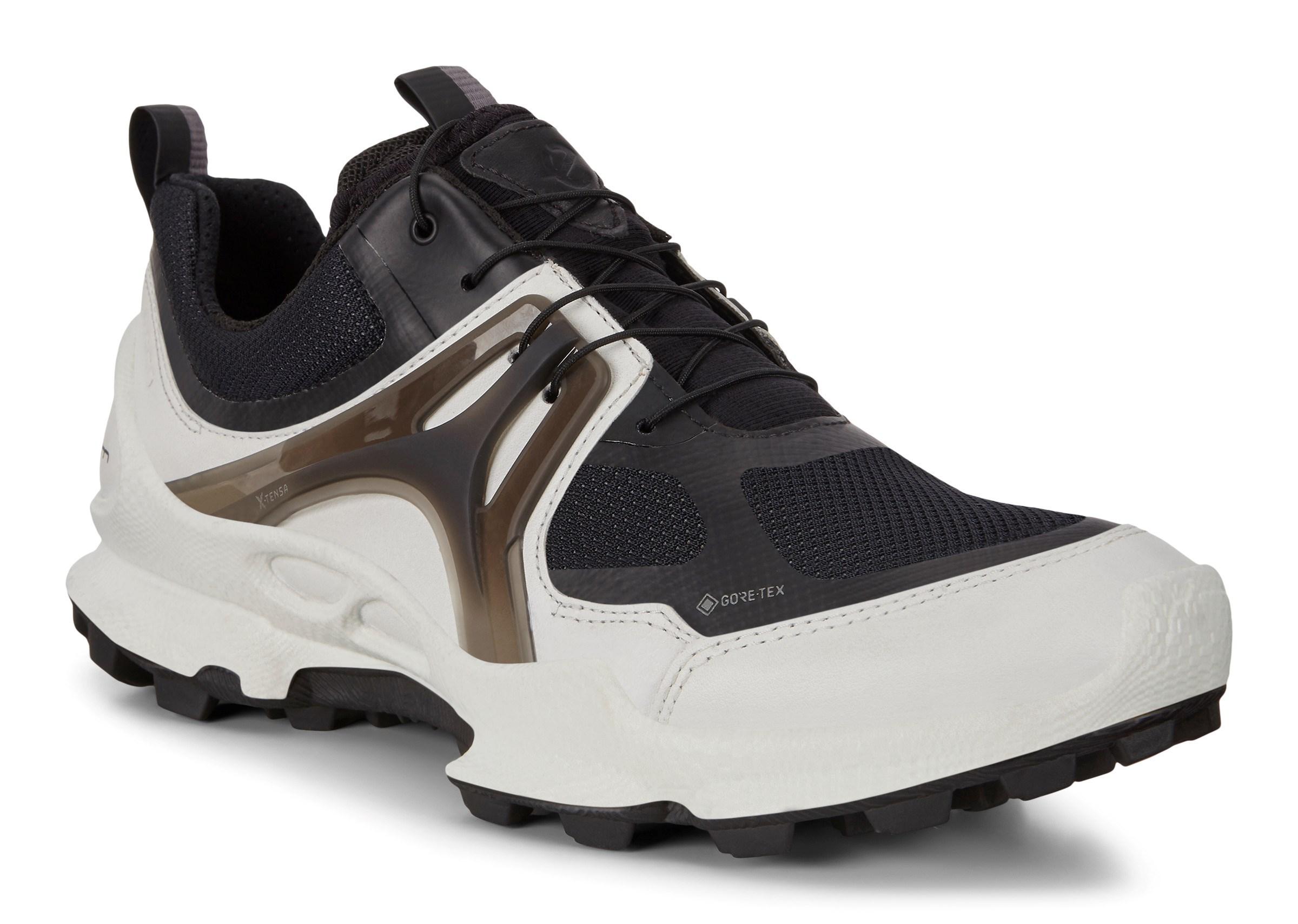 Officiell Svart Skor Ecco Aurora Sneakers Herr Online