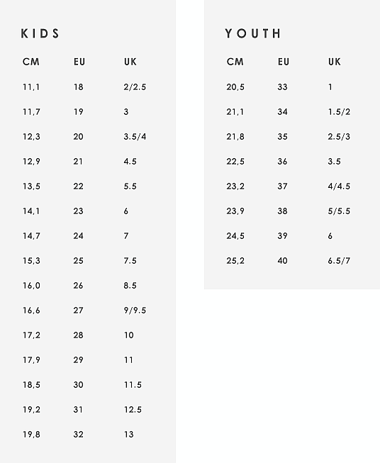 Youth To Women S Shoe Size Conversion.Ecco Size Guide