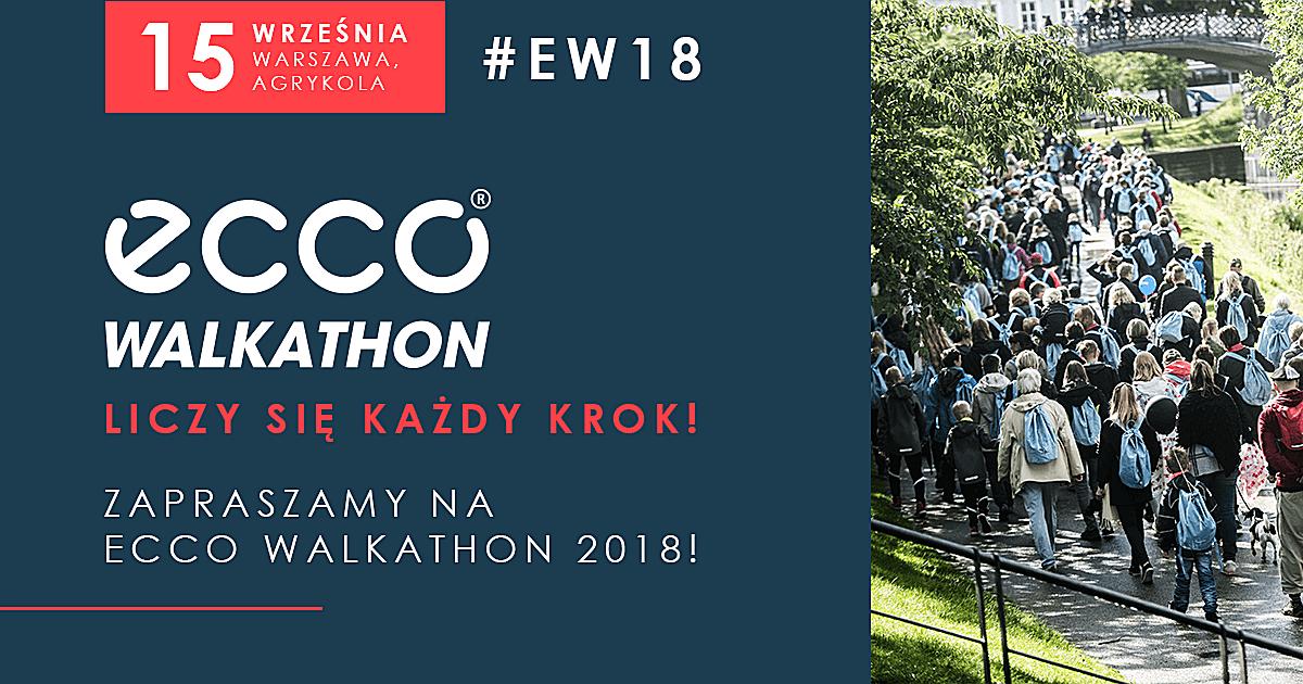 ECCO Walkathon - 15 września, Warszawa - Agrykola
